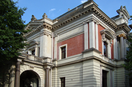 1911 bezog Doering die Villa Lentz in der Falkenwalder Straße